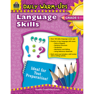 TCR3995 Daily Warm-Ups: Language Skills Grade 5 Image