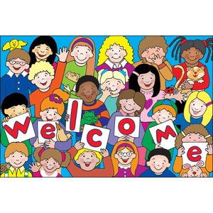 TCR4077 Kids Welcome Postcards Image