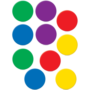 TCR4110 Colorful Circles Accents Image