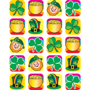TCR4151 St Patrick's Day Stickers Image