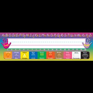 TCR4307 Modern Printing Flat Name Plates Image