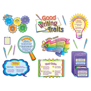TCR4404 Good Writing Traits Bulletin Board Display Set Image