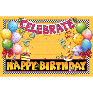 Happy Birthday Awards from Mary Engelbreit Image