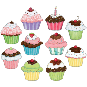 Cupcakes Accents from Susan Winget Image