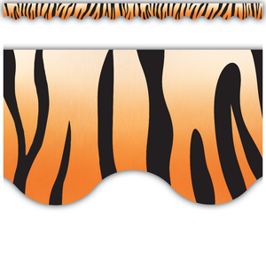 TCR4750 Tiger Scalloped Border Trim Image