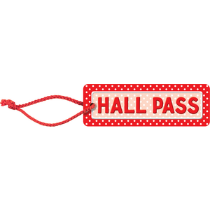 Polka Dots Hall Pass Image