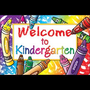 Welcome to Kindergarten Postcards Image