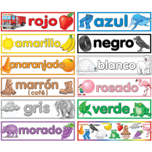 TCR4945 Colors (Spanish) Headliners Image