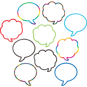 Speech/Thought Bubbles Accents Image