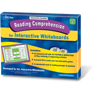 TCR51111 Reading Comprehension for Interactive Whiteboards Grade 1 Image