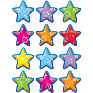 TCR5125 Stars Mini Accents Image