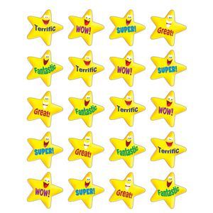 TCR5126 Encouraging Stars Stickers Image