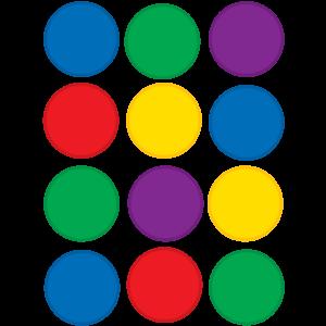 Colorful Circles Mini Accents Image