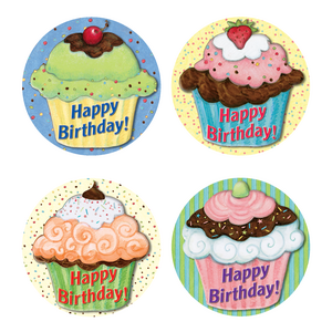 TCR5164 Cupcake Wear 'Em Badges from Susan Winget Image