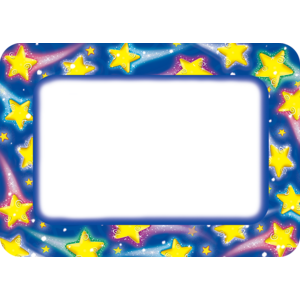 TCR5170 Shooting Stars Name Tags Image