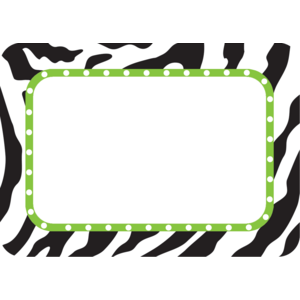TCR5173 Zebra Name Tags/Labels Image