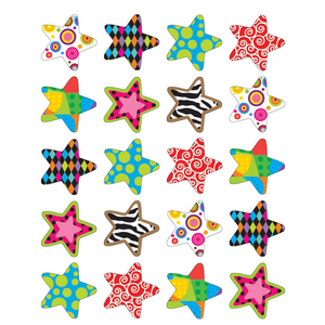 TCR5179 Fancy Stars Stickers Image
