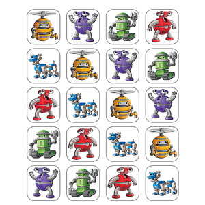 TCR5254 Robots Stickers Image