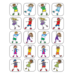 TCR5256 Fantastic Kids Stickers Image