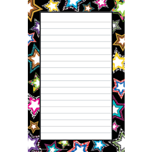 TCR5270 Fancy Stars Notepad Image