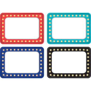 TCR5433 Marquee Name Tags/Labels - Multi-Pack Image