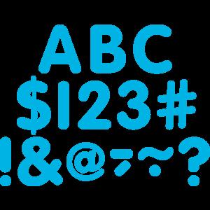 "TCR5564 Aqua Classic 2"" Letters Uppercase Pack Image"