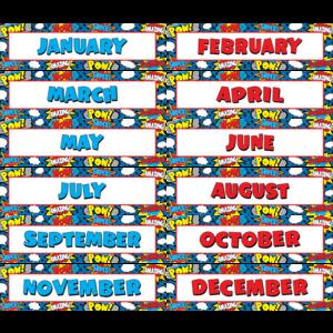 TCR5590 Superhero Monthly Headliners Image
