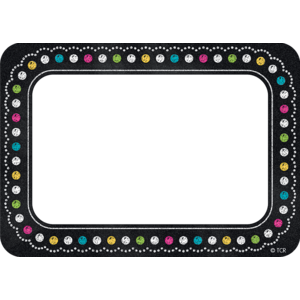 TCR5623 Chalkboard Brights Name Tags/Labels Image