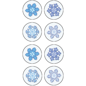 TCR5770 Winter Mini Stickers Image