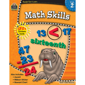 TCR5921 Ready-Set-Learn: Math Skills Grade 2 Image