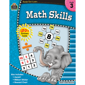 TCR5922 Ready-Set-Learn: Math Skills Grade 3 Image