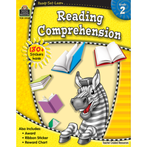 TCR5938 Ready-Set-Learn: Reading Comprehension Grade 2 Image