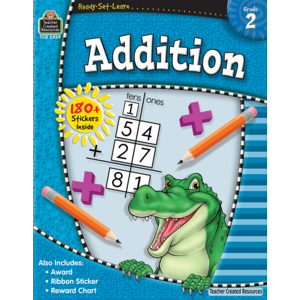 TCR5939 Ready-Set-Learn: Addition Grade 2 Image