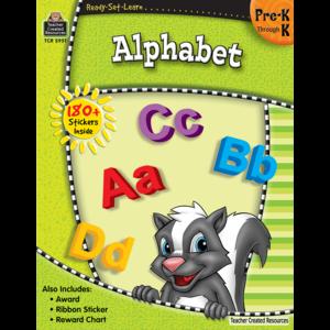 TCR5951 Ready-Set-Learn: Alphabet PreK-K Image