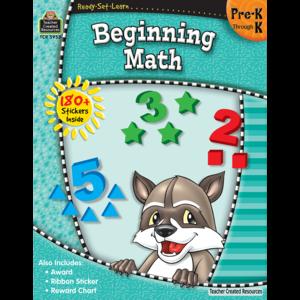 Ready-Set-Learn: Beginning Math PreK-K Image