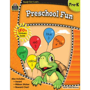 TCR5976 Ready-Set-Learn: Preschool Fun Image