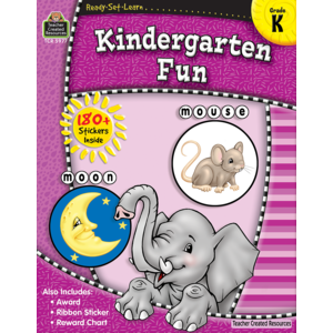 TCR5977 Ready-Set-Learn: Kindergarten Fun Image
