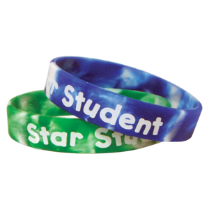 TCR6572 Fancy Star Student Wristbands Image