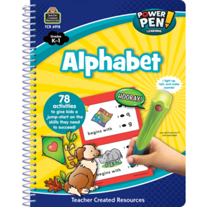 TCR6918 Power Pen Learning Book: Alphabet Image