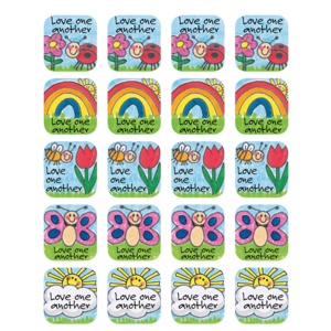 TCR7002 Children's Ten Commandments Stickers Image