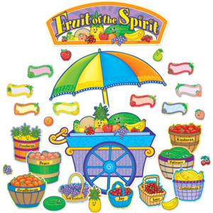 Fruit of the Spirit Bulletin Board Display Set Image
