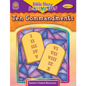 TCR7050 Bible Stories & Activities: Ten Commandments Image