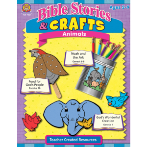 TCR7061 Bible Stories & Crafts: Animals Image