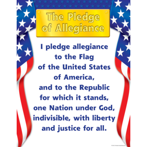 TCR7631 Pledge of Allegiance Chart Image