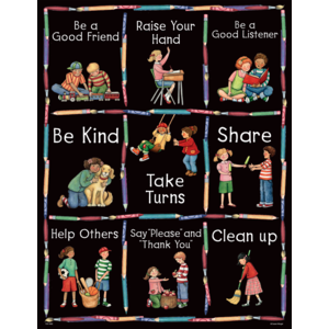 TCR7682 Manners Chart from Susan Winget Image
