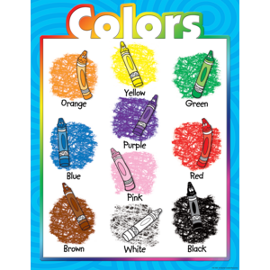 TCR7685 Colors Chart Image