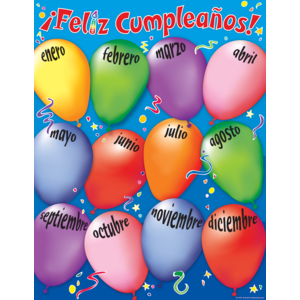 TCR7691 Happy Birthday (Spanish) Chart Image
