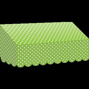 TCR77162 Lime Polka Dots Awning Image