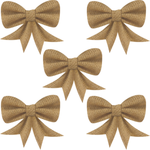 TCR77172 Shabby Chic Bows Image