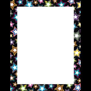 TCR7746 Fancy Stars Blank Chart Image